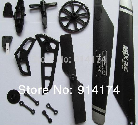 Запчасти и Аксессуары для радиоуправляемых игрушек 2set /lot mjx F46 F646 2.4 G 4 RC + квадрокоптер радиоуправляемый mjx bugs 3