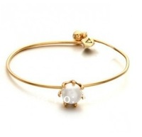 Min Order $10(mix order) Free Shipping!2014 new Bracelet simple opening Bangle