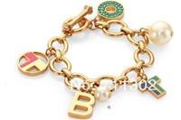 Fashion ttb charm bracelet tf letter pendant bangle brand logo Valentine's Day gift love free shipping