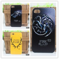 Newest Hot Sale Game Of Thrones Monster Dragon Wolf Hard Plastic Case Cover For Sony Xperia M C1905