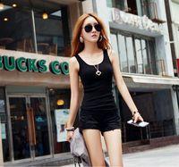 2014 spring and summer new large size women's European Grand Prix Korean Shopping vest straps bottoming shirt wholesale BD01