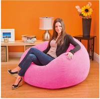 INTEX inflatable sofa, air sofa, 107*104*69cm, pink, purple, green colors