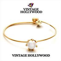 New 2014 Vintage Pearl  Bangles Bracelets S250