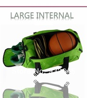 Free shipping!New arrival high quality colorful multi dual function gym totes shoulder sling gym sport bag backpack!!