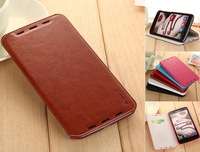 2014 new Brand High quality top grade Hot Luxury Wallet Credit leather Can stand Cover Skin case for Lenovo S930 free shipping
