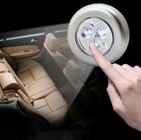 3 Led Stick Touch lamp Trunk emergency light Car backseat nightlight