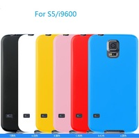 10pcs/lot  Sofe TPU jelly back cover case For GALAXY S5 I9600,Free shipping High quality