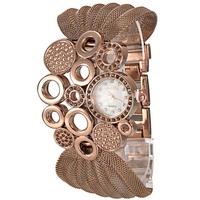 NEW 2014 trend Rhinestone Decorated Dial steel women's watch,  Dress wristwatch Best Gift for ladies