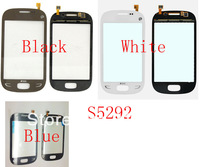 (Warranty 6 Months)(1PC by AM DHL EMS)100% Top Quality Guarantee for Samsung S5292 Touch Screen Digitizer Black White Blue(AL11)