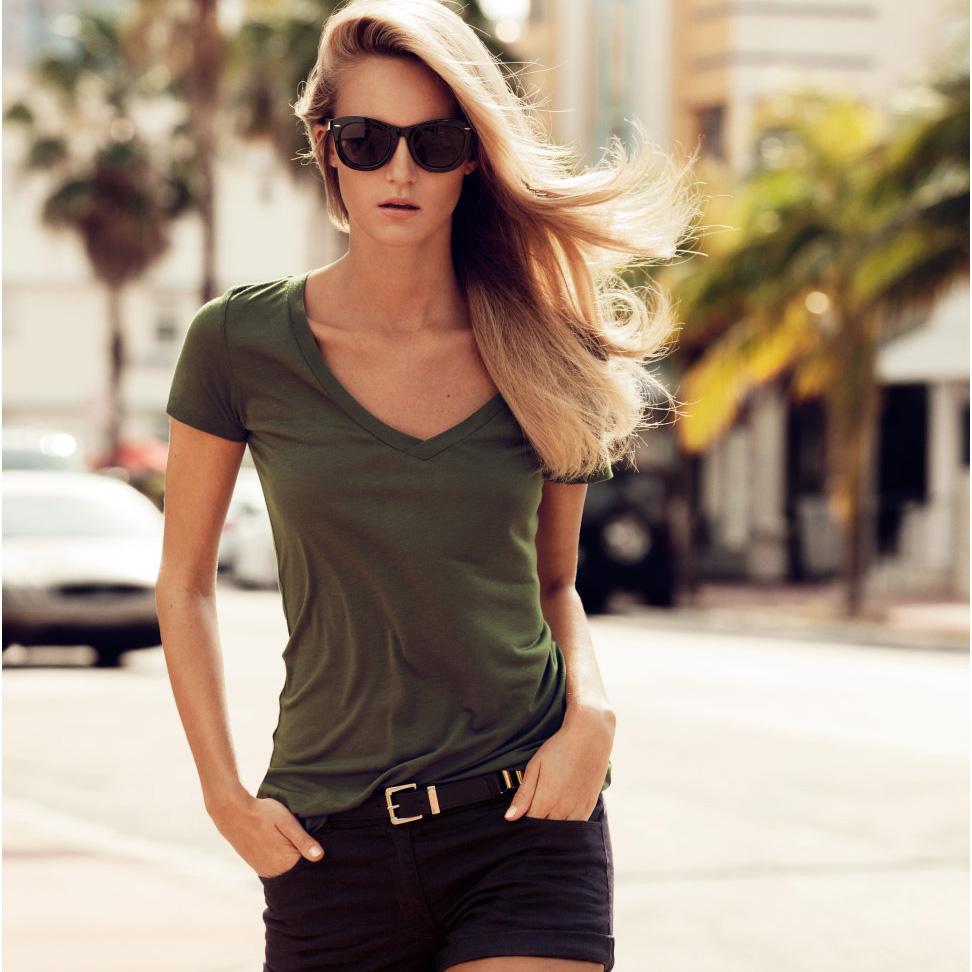 Женская футболка Brand new v/6 haoduoyi HY166 brand new 2015 6 48 288 a154