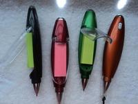 Multifunctional commercial ballpoint pen light pen flashlight pen stationery