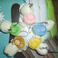 Wholesale 50pcs/Lot H=6cm Cartoon The Tortoise/Turtle Plush Pendants Toys For Wedding/Key/Phone/Bag/Christmas Gifts