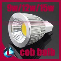 5 pcs MR16 9w/12w/15w CREE LED COB SpotLight Bulb Cool White/Warm White dimmable light lamp Home Lighting AC & DC 12V 24V