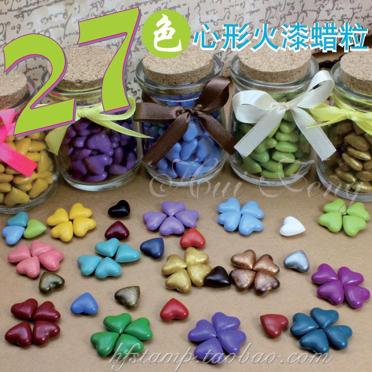 Lacre de cera lacre de vedação selo de cera 27 coração pintura(China (Mainland))