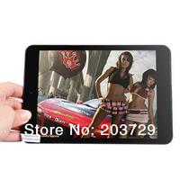 "7.9"" PiPo S6 Quad Core Tablet PC RK3188 1.6GHz Android 4.2 Dual Camera 1GB 8GB Bluetooth HDMI (Black) DHL/EMS Free Shipping"