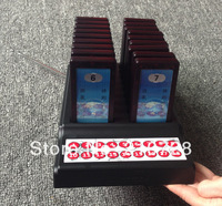 Paging System with 1pc Transmitter also charger and 18pcs Pager DHL free shipping free