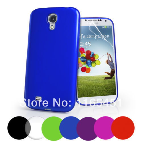 Anti Dust TPU Soft Cases Smart Cover Mobile Phone Bag For Samsung Galaxy S4 I9500(China (Mainland))
