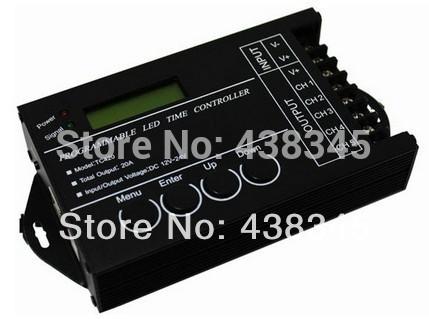 New 2014 Rgb LED Time Program Controller RGB Strip Time Controller Programmable Usb Controller controle TC420 Free Shipping(China (Mainland))