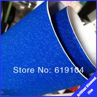 ROHS certificate 1.52*30m air Free bubbles with channel dark blue brilliant&diamond matte car wrap vinyl vinyl sticker