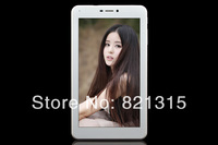cheap 7inch 3G phone call tablet pc MTK6572 dual core Android 4.2.2 built in 3G phone call GPS BLUETOOTH GSM WCDMA