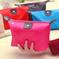 Min.order is $15 (mix order) Dumplings 3552 shaped candy color cosmetic  storage bag women's travel handbag