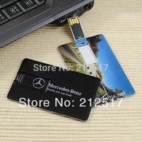 Free shipping 2014 customized DIY credit card usb flash drive logo free credit card pen drive 4G 8G 16GB USB
