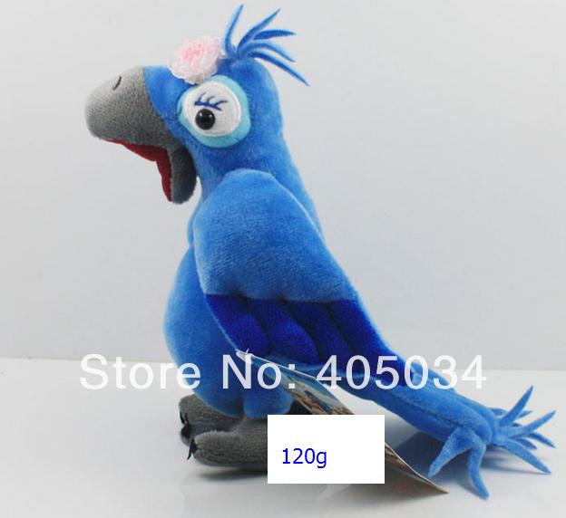 2014 New Arrival Original 3D Movie Plush RIO 2 movie Blu Jewel toys ICE AGE, mix 50pcs/lot(China (Mainland))