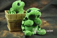 Super cute 1pc 25cm cartoon mini nici little Turtle tortoise plush hold doll stuffed toy children girl birthday festival gift