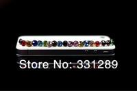 Free shipping 200pcs/lot diamond Earphone Headphone anti Dust plug dust Cap for iphone 4 4s for 3.5mm plug mobile phone