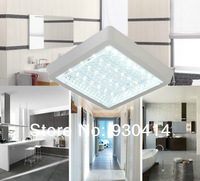New Modern Fashion  10w  Ceiling Light chandelier Bathroom Lamp  white /Warm white 220V 230V 240V  Square,Free Shipping