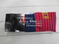 2014 Top thailand quality MESSI NEYMAR JR soccer socks,Free shipping Spain socks home red blue