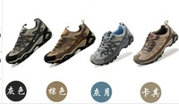 High quality Foreign trade the original single Women/men high help waterproof outdoor hiking  shoes unisex trekking shoes