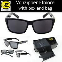 Vonzipper Elmore 2015 New Sports Sunglasses oculos de sol feminino Men Outdoor Fashion Sunglass With Original Pack