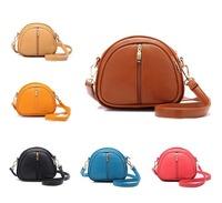 Free shipping! 7 Color Good quality PU small bag lady women Candy Color Messenger Bag Fashion all match handbags shoulder bag