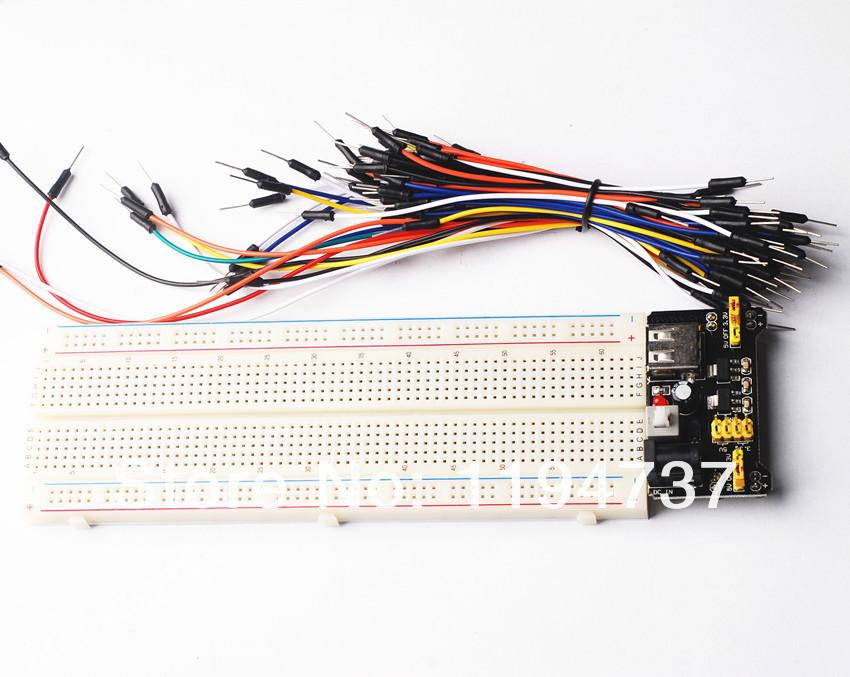 Электронные компоненты STIME 3.3v /5V MB102 + 830 mb/102 65 MB-102 интегральная микросхема 830 pcb mb 102 mb102 diy