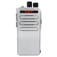 Walkie Talkie KST K-888 UHF 400- 500 MHz 16CH Mini PocketsOX Scan Monitor Ultra-thiTOT Fashion Two Way Radio A1110D Alishow