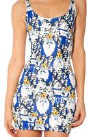Summer New 2014 Women Cartoon Mini Female Dress' ICE KING AND GUNTER DRESS - LIMITED Sundress Fitness Unique Dresses S119-79