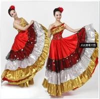 Modern dance clothes expansion bottom dress modern dance women's full dress