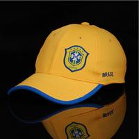 Free Shipping 2014 Word Cup Baseball Visors Cap Brazil/Italian Style Casual Custom Hats