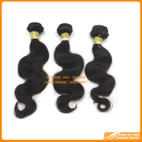 Free Shipping virgin unprocessed 5A Malaysian hair human hair weave wavy hair body wave Queen hair products 3 pcs lot