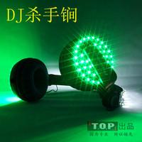 Led headset vox headset luminous mike dj disc