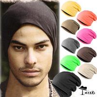 BEST SELLING!!! (5pcs/lot) New arrival 9 colors Unisex Solid Color Elastic Hip hop Cap Beanie Hat Cap BKMZ003