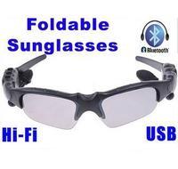 New Fashion HIFI Bluetooth Headset Sunglasses for Cell Phone Wireless Earphone Headphone Bluetooth Earphone Wireless Headphone