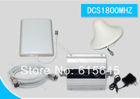 LCD Display 1800Mhz DCS Mobile Phone Signal Booster repeater panel antenna kit free shipping