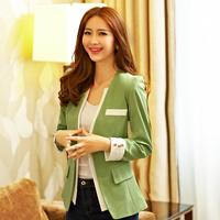 Blaser Feminino Real Sale Suits For Women Vestidos Femininos 2014 Spring Women's Slim Blazer Casual Long-sleeve Candy Outerwear