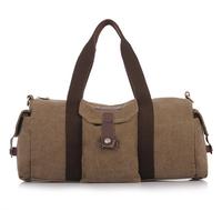 en canvas bag woman's handbag wholesale and large capacity travel movement, single shoulder bag