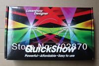 Pangolin Quickshow Laser display Software American Quick Show USB FB3 ILDA PC DJ Laser Light Show Designer & Controller Software
