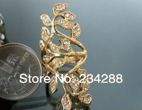 Full-length ring hollow carved luxurious extravagance