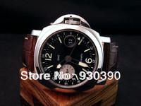 2013 Men's NEW brand watch, 44 mm STEEL GMT PAM 88 PAM 00088 luxury brand wristwatches