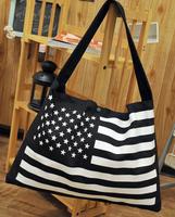 New Arrived !ultralarge letter dual-use casual canvas fringe big bag fashion ladies shoulder bag